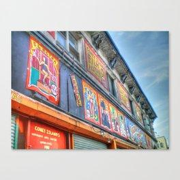 Coney Island USA Building Canvas Print