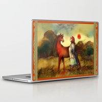 unicorn Laptop & iPad Skins featuring Unicorn by Iris V.