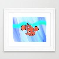 nemo Framed Art Prints featuring Nemo by paulusjart