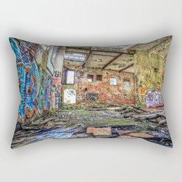 Abandoned old woolen mill factory Rectangular Pillow