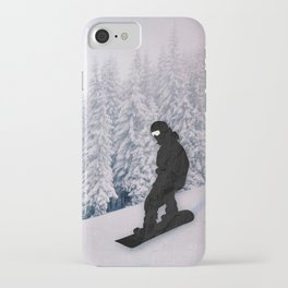 Snowboarding iPhone Case