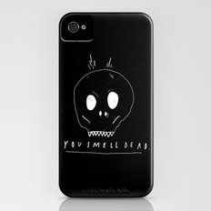 YOU SMELL BAD iPhone (4, 4s) Slim Case