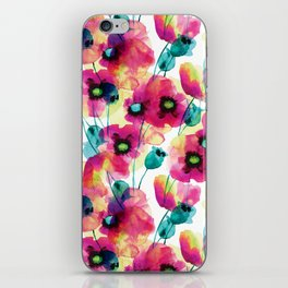 happy floral iPhone Skin