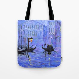 Lilac Night Tote Bag