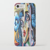 madonna iPhone & iPod Cases featuring Madonna by Robin Curtiss