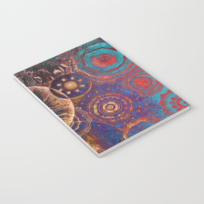 Mysterious Circles Notebook