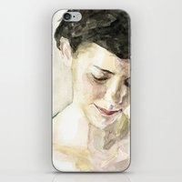 amelie iPhone & iPod Skins featuring Amelie Poulain  by Stefan Harris