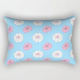 Simple Flowers 2 Rectangular Pillow