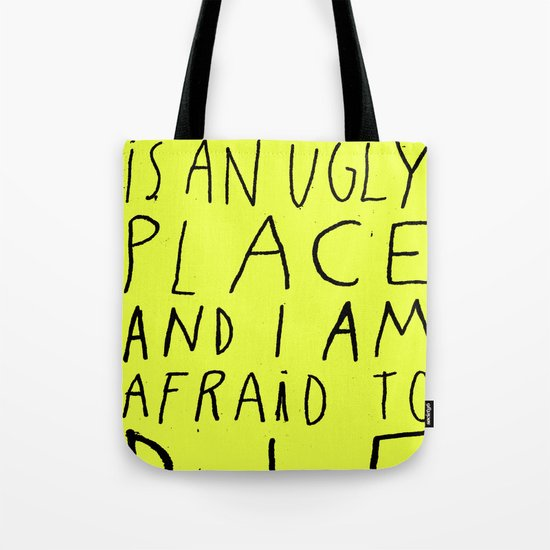THIS WORLD Tote Bag