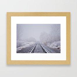 Losing Sight Framed Art Print