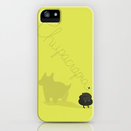 Chupcrapra iPhone Case