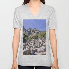Yosemite Park Rocks Unisex V-Neck