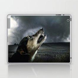Dog moonlight 1 Laptop & iPad Skin