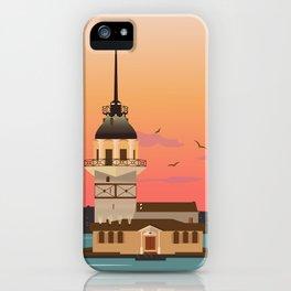 Istanbul Illustration iPhone Case