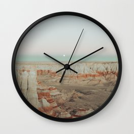 Coal Mine Canyon Wall Clock