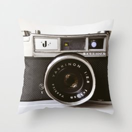 Camera II Throw Pillow