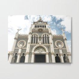 Iglesia Tica Metal Print