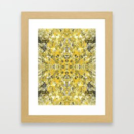 sunshine meditation Framed Art Print