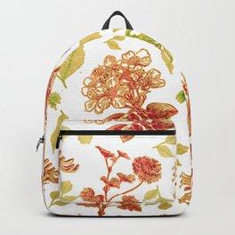 Lovely Floral Pattern Backpack