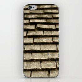 Wood Roof iPhone Skin