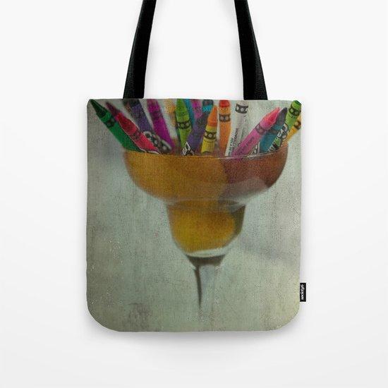 CRAYON LOVE : Addiction Tote Bag