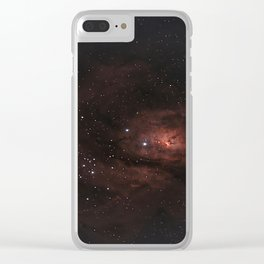Vastness Of Space - Wonderful Endless Clear iPhone Case