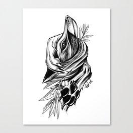 Wild Fox Canvas Print