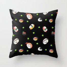 Sushi Sesh Throw Pillow