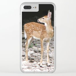 Something's Out There Clear iPhone Case