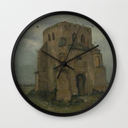 The Old Church Tower at Nuenen Wall Clock