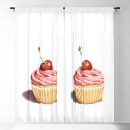 Perfect Pink Cupcake Blackout Curtain