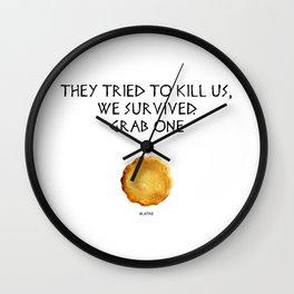 Hanukkah Special - #Latke Story of hanukka maccabis in short  Wall Clock