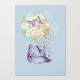 Techno - chat Canvas Print