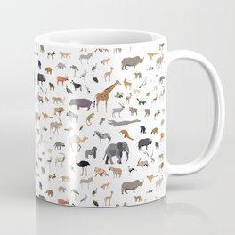 African animal pattern Coffee Mug