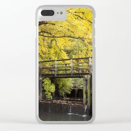 Jersey in Yellow Clear iPhone Case