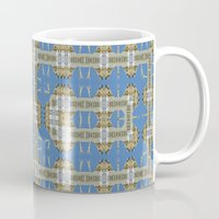 salvador dali Mugs featuring Salvador Dali Tribute  by Louisa Catharine Art And Patterns