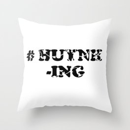 #Huynh-ing Scattered Leaves Throw Pillow