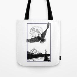 Eagle Mountain Tote Bag