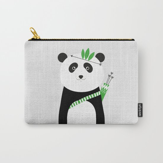 Be brave - panda Carry-All Pouch