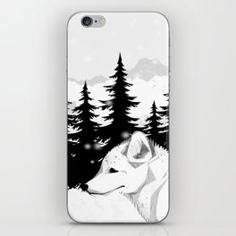 Arctic Animals - Arctic Tundra iPhone Skin