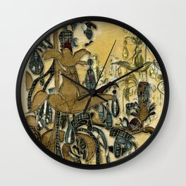 French Chandeliers Wall Clock