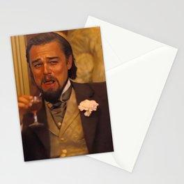 Leonardo Dicaprio laughing meme Stationery Cards