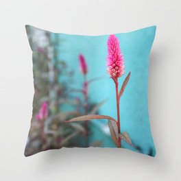 Fuchsia Throw Pillow