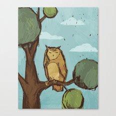 Watcher. Canvas Print