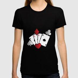 Poker Cards | Casino Gamble Ace Gift Idea T-shirt