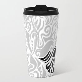 Line art Jellyfis Travel Mug