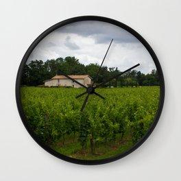 vineyards Wall Clock