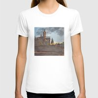 college T-shirts featuring Crouse College, Syracuse University by Ken Coleman