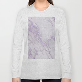 Ultra Violet Marble Long Sleeve T-shirt