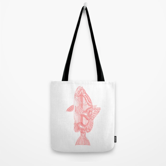"""One Fish, Two Fish..."" Tote Bag"